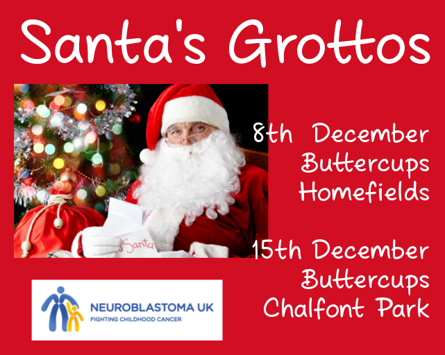 Visit Santa's Grotto at Homefields, Chiswick or Chalfont Park