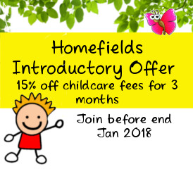 Homefields reduced fees offer